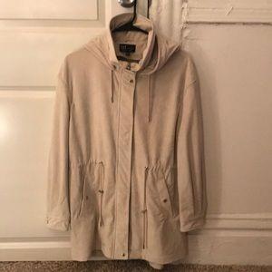 Zara Beige Fall Jacket